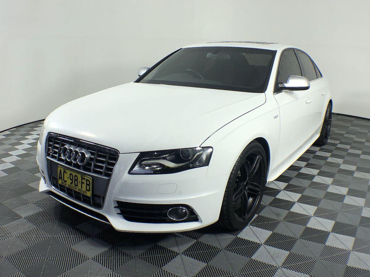 Audi S4 3.0 TFSI Quattro B8 Automatic Sedan