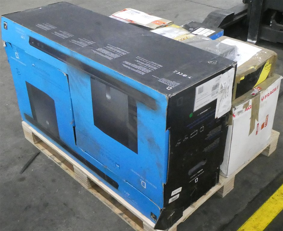 Pallet of Assorted Audio & Appliance Goods