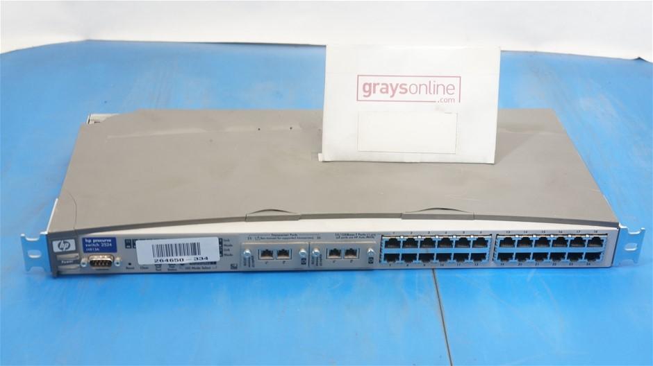HP Procurve 2524 ( J4813A ) Switch 24 Port Switch