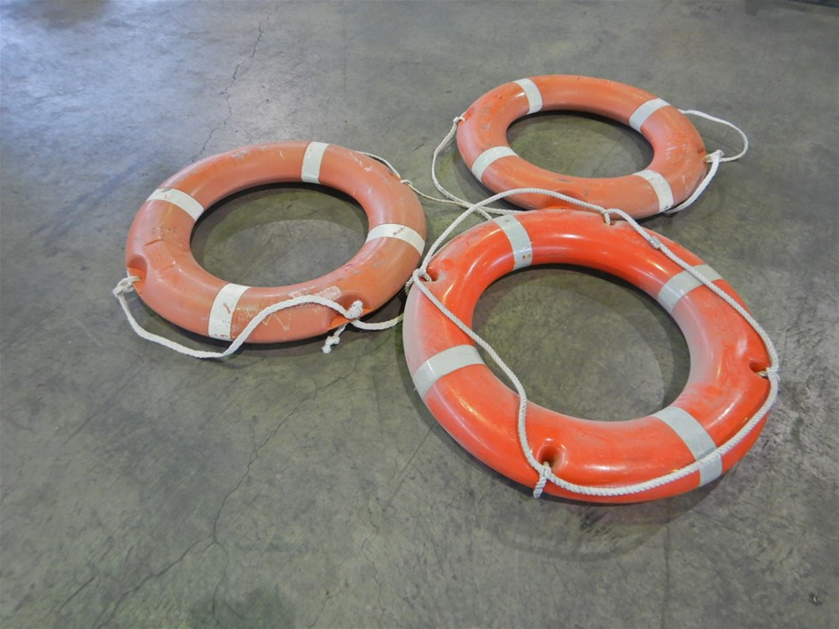Qty 3 x Boat Lifebuoys (Pooraka, SA)