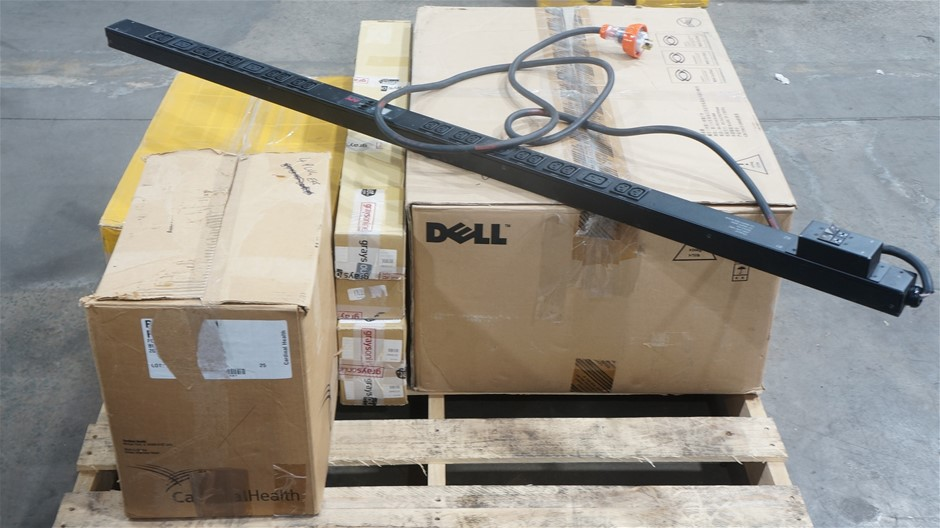 Pallet of Assorted Server Modules, Accessories and Cables