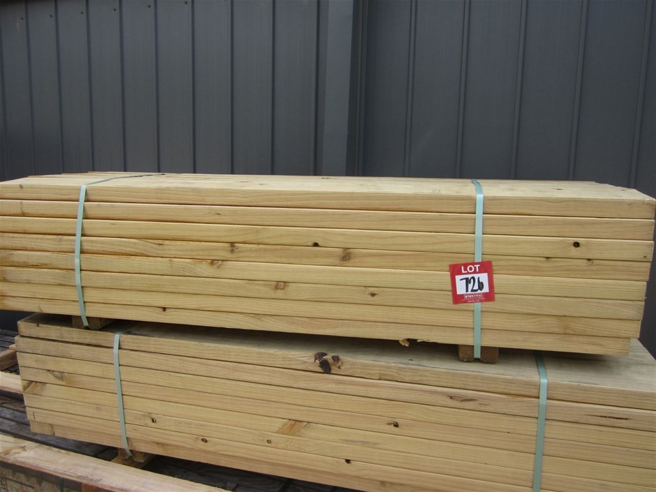 Pack of 140mm x 45mm MGP 10 T3 green plus Treated Pine.