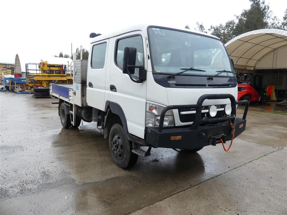 2009 Mitsubishi Canter 3.0 7/800 4 x 4 Pantech Truck