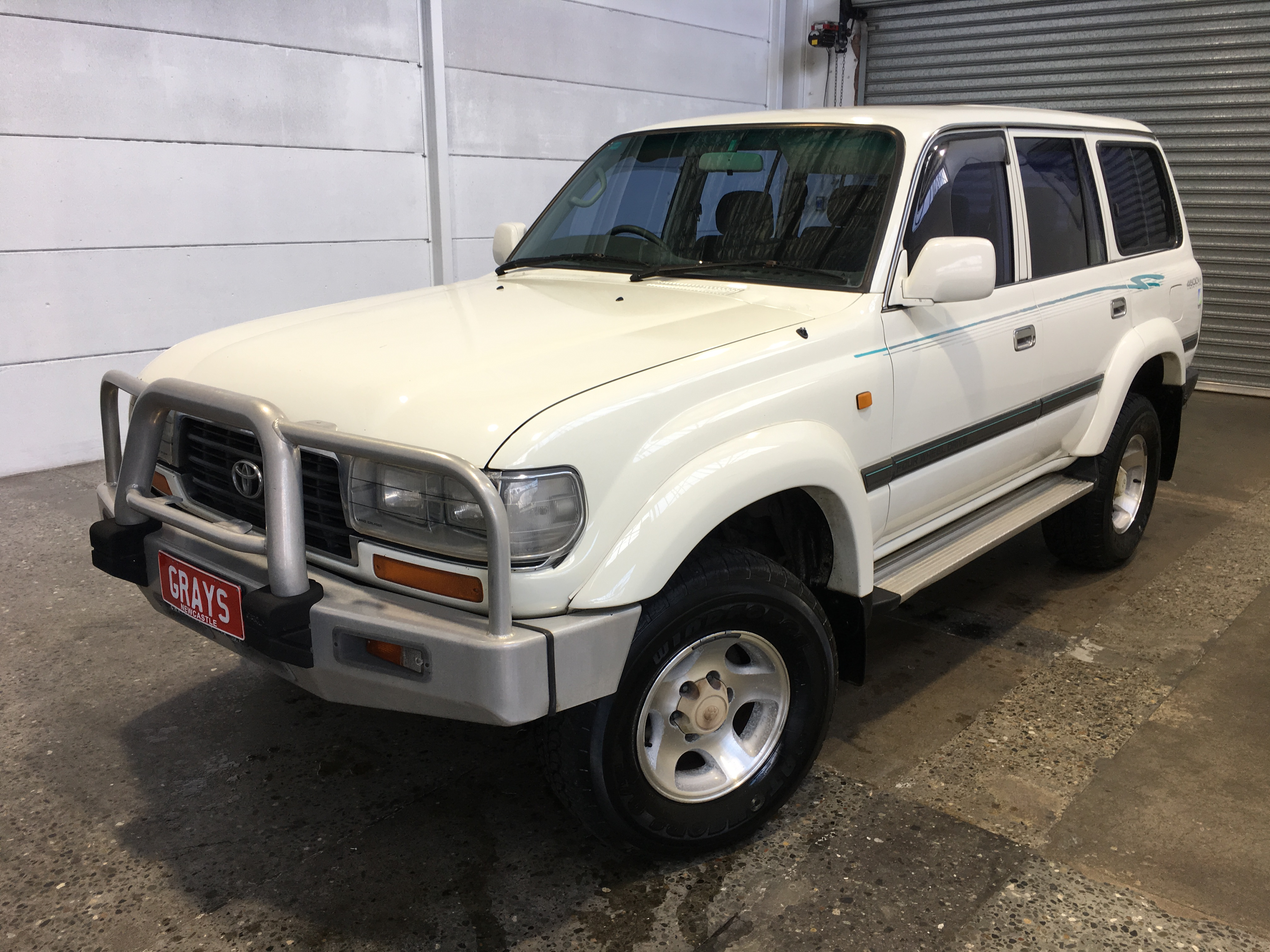 1995 Toyota Landcruiser GXL (4x4) FZJ80 Automatic Wagon