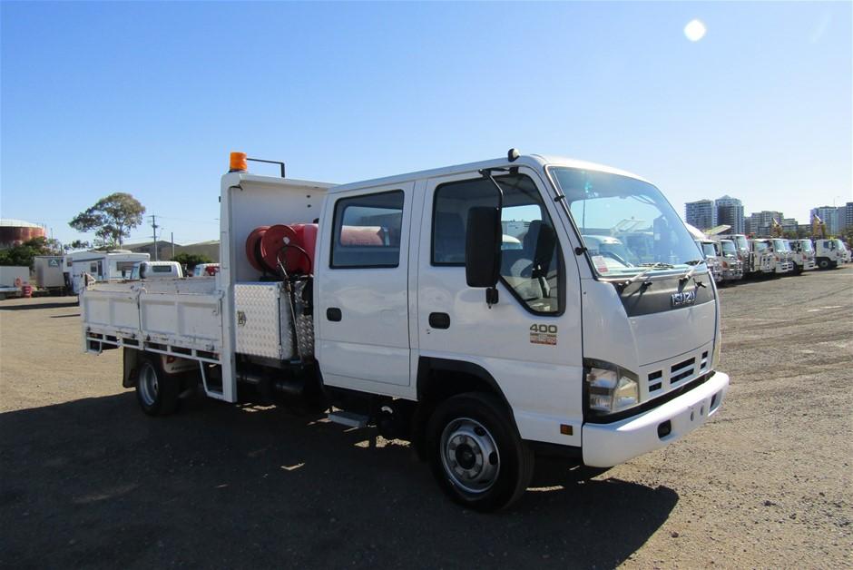 2006 Isuzu NPR400 Turbo Diesel Tipper Truck 182,817km (Ex Gov)
