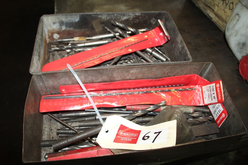 Assorted Machine Long Series Drill Bits