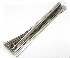 100 Piece 4.6x400mm Stainless Steel Lock
