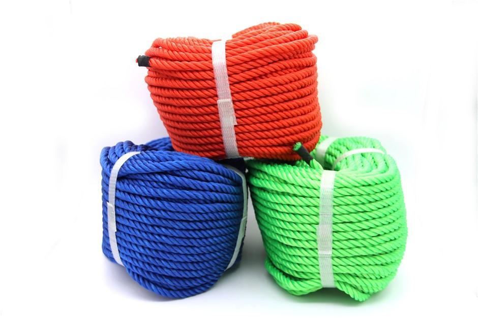 8mm 3-Strand Nylon Rope -30M 1kg