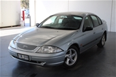 Unreserved 2000 Ford Falcon S AUII Manual Sedan