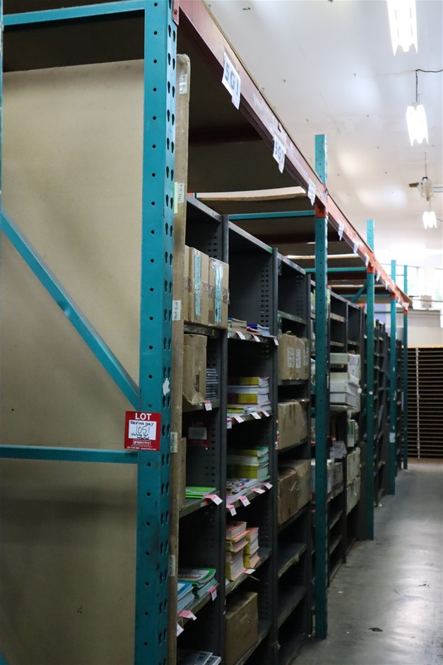 4 x Bays Colby Pallet Racking