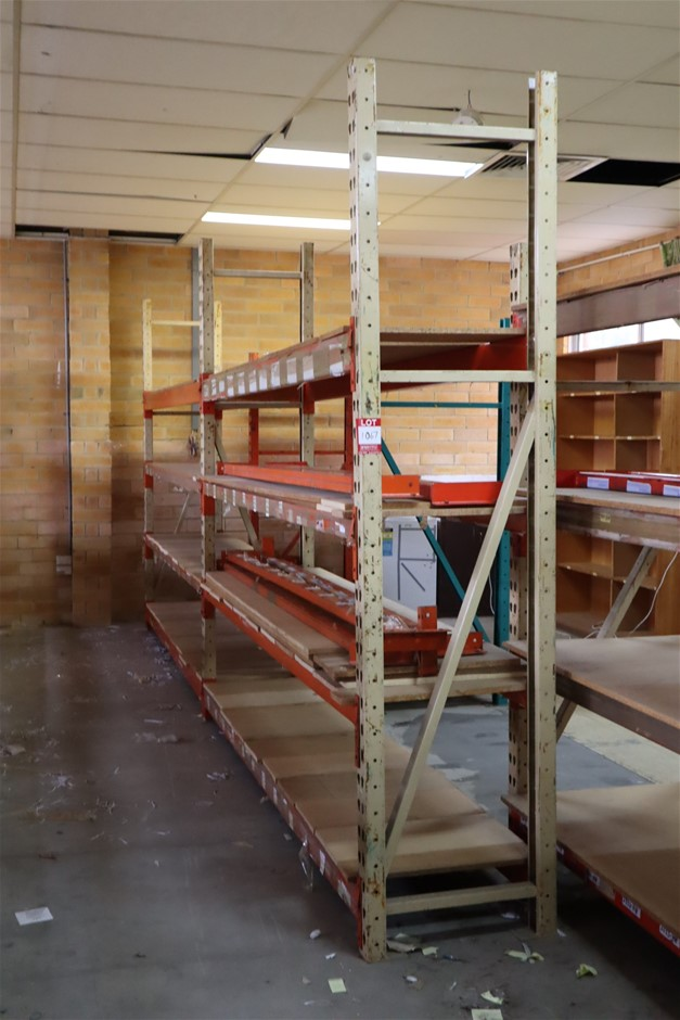 2 x Bays Mixed Unbranded Pallet Racking