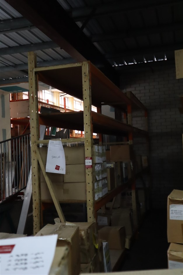 2 x Bays unbranded Pallet Racking