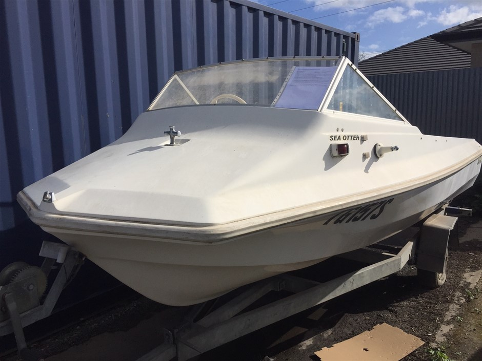 1976 Swiftcraft Sea Otter 4.4m Runabout Boat
