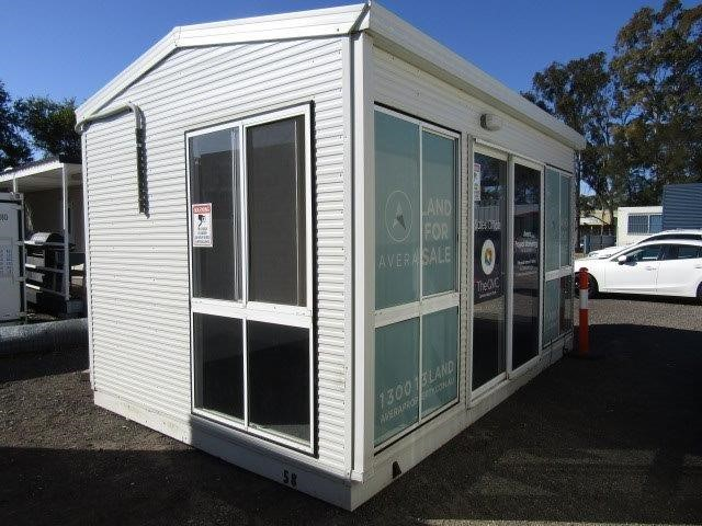 Portable Building, Sales office
