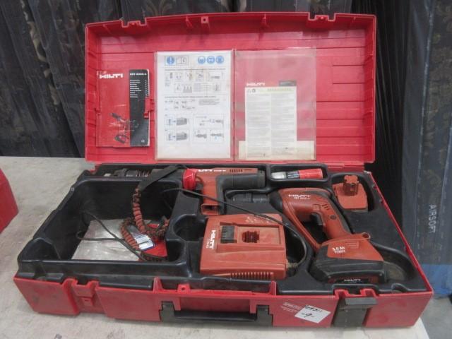 1 x Koffer X-BTG Set of Hilti Fastening Equipment