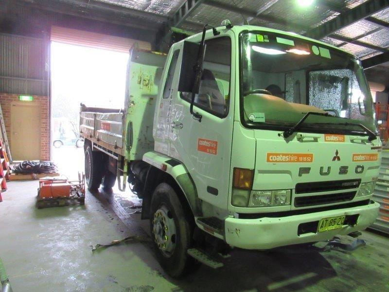 8t Tipper Truck - 2007 Mitsubishi FM600 Tipper