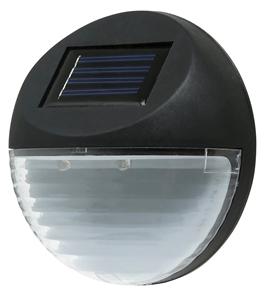 Utmark Solar LED Fence Light (Round) Col