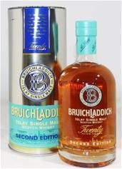 Bruichladdich `2nd Edition 20 Year Old`   (1x 700ml),Presentation Tube