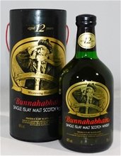 Bunnahabhain  `12 Year old 1990's bottling`   (1x 700ml), Presentation Tube