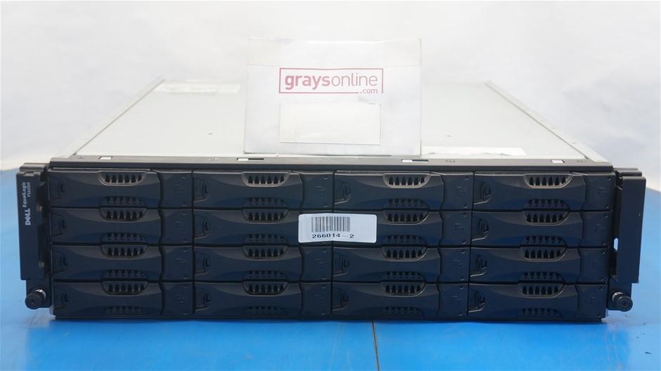 Dell EqualLogic PS6000 SAN iSCSI Storage Array with 4.8TB Capacity