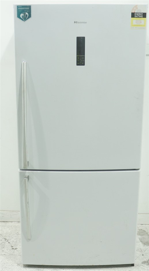 Hisense 520L Bottom Mount Fridge (HR6BMFF520D) (White)