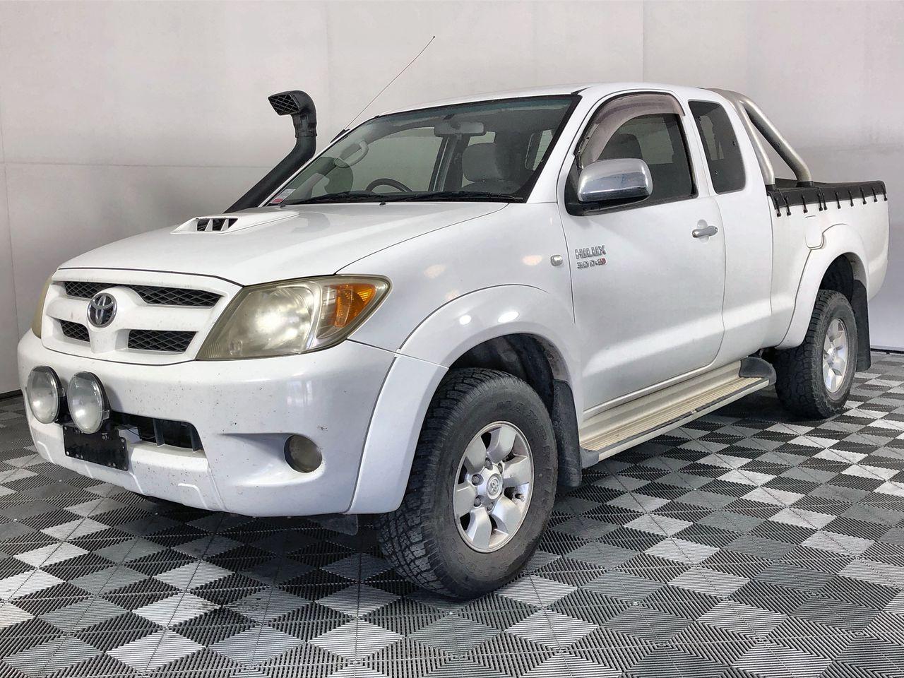 2007 Toyota Hilux SR5 3.0T/Diesel 4WD Dual Cab
