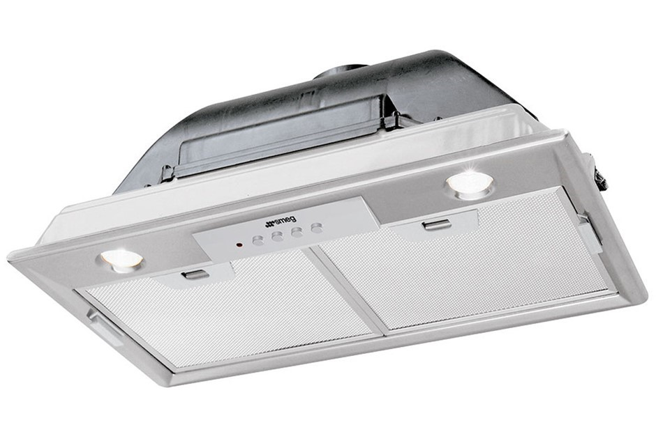 Smeg 52cm Classic Aesthetic Under Cupboard Rangehood - Model SHU501X