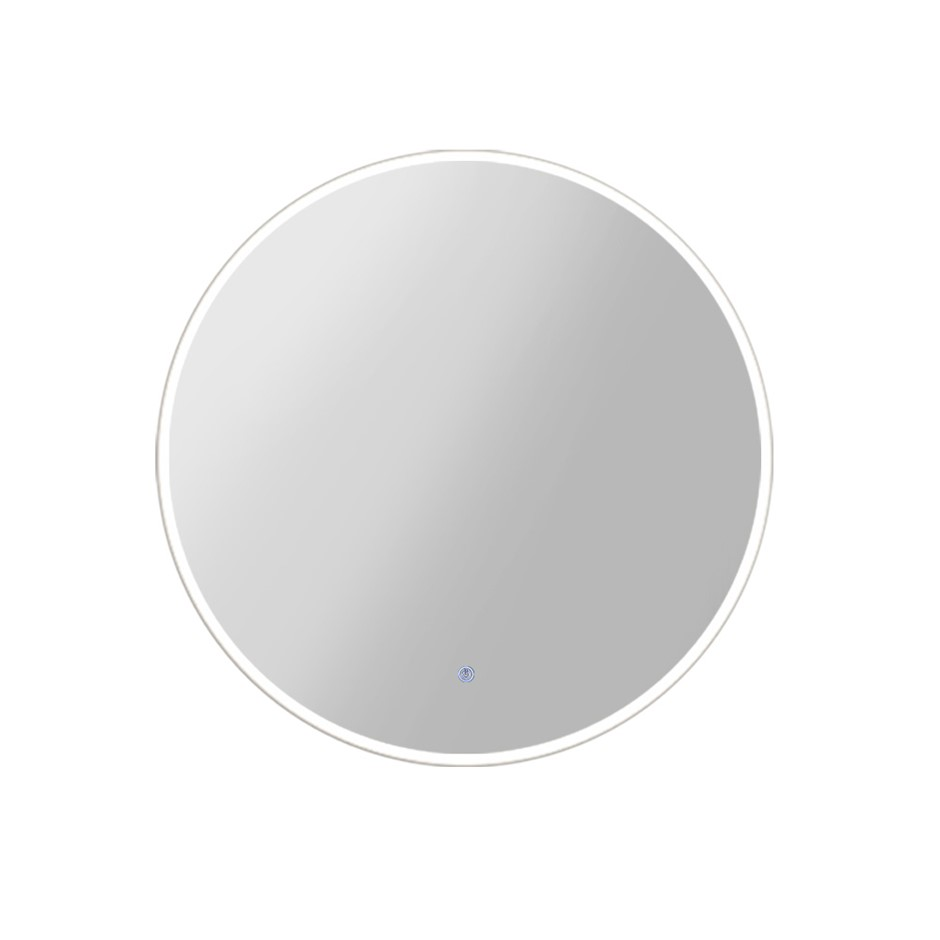 Embellir LED Wall Mirror Bathroom Mirrors With Light 90CM Decor Round