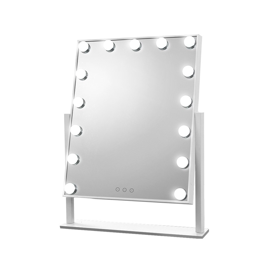 Embellir Hollywood Makeup Mirror with 15 Dimmable Bulb Lighted Mirror