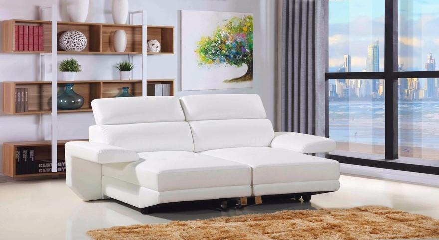 Tango - Convertible Home Theatre Lounge, White