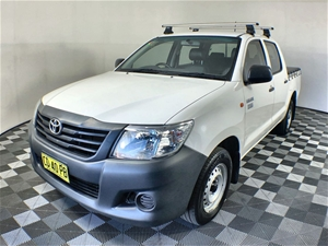2015 Toyota Hilux Workmate TGN16R Automa