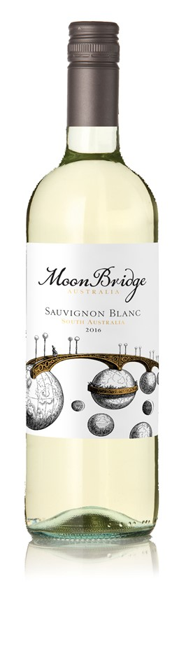 Moonbridge Sauvignion Blanc 2016 (12x 750mL), SA.