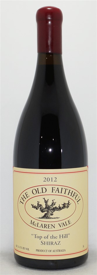The Old Faithful Top Of The Hill Shiraz 2012 Double Magnum (1x 3L)