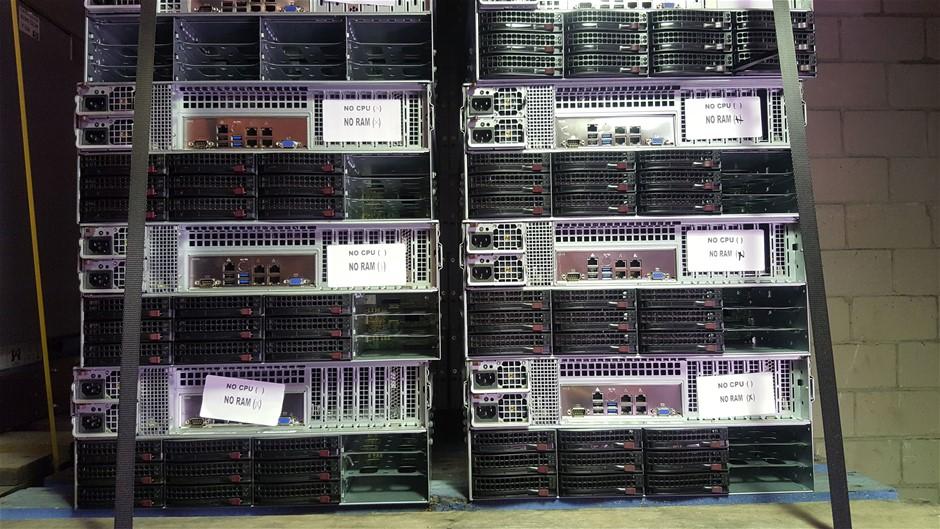 SuperMicro 4U 12-Cores V2, Server 21.6TB storage 192GB RAM