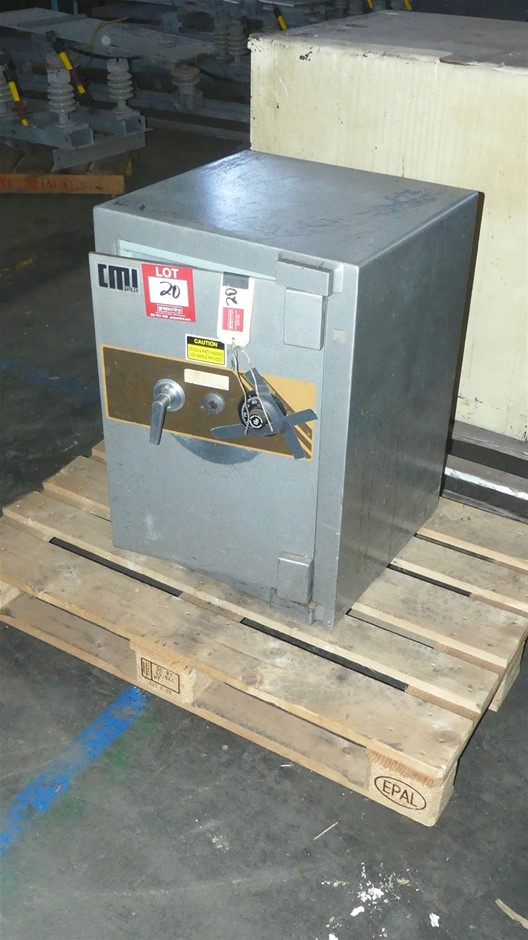 CMI Safe Co Safe with Combination Lock and Key Lock