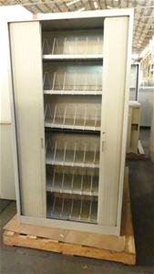 Qty 2 x Metal Storage Cabinets