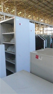 Qty 2 x Metal Storage Cabinets