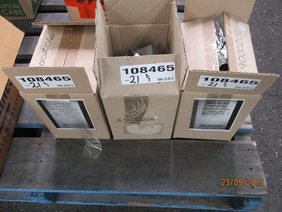 Qty 3 x Quicksilver 69000206 Marine Service Kits