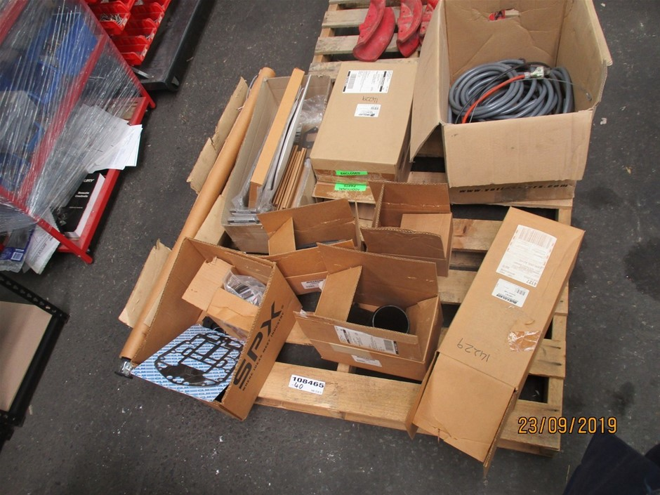Pallet of Marine Components