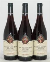 Jean Bouchard Tastevine Mil AOC Pinot Noir Bourgogne 2013 (3x750mL)Burgundy
