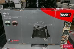 1 x Stationary BBQ Cart Only - Weber Bra