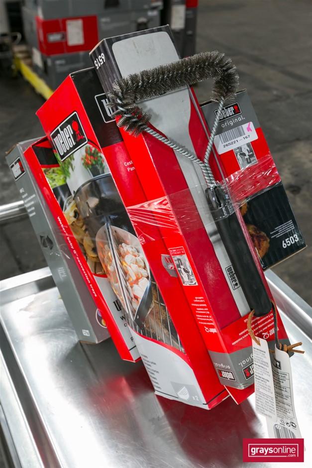 1 x Bundle Assorted Weber Accessories