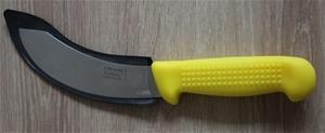VICTORY 15CM SKINNING KNIFE YELLOW HANDL