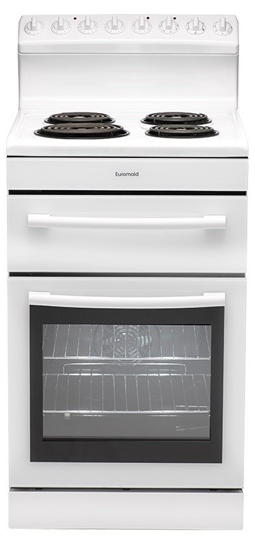 Euromaid R54RW Electric Radiant Coil Cooktop Oven
