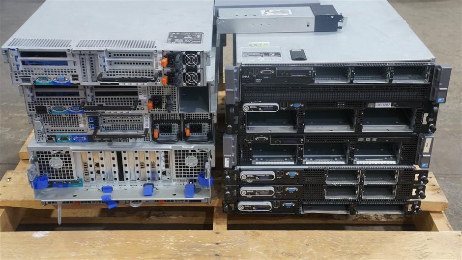 Pallet of Assorted Brand Model Servers
