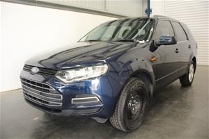 2012 Ford Territory TX (RWD) SZ Turbo Di