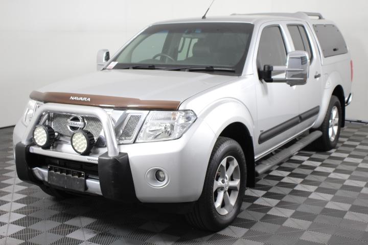 2012 Nissan Navara ST-X550 V6 T/Diesel 4WD 87,915 km's