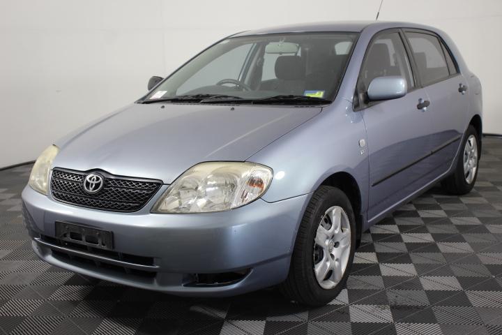 2004 Toyota Corolla Seca Ascent Hatchback