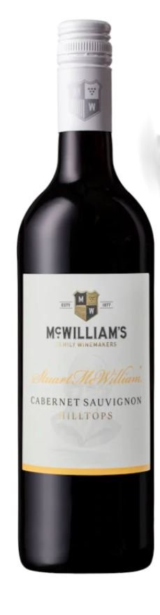 Stuart Mcwilliam Hilltops Cabernet Sauvignon 2013 (6 X 750mL) Hilltops, NSW