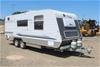 2008 Paramount Caravans Classic Tandem Caravan Trailer
